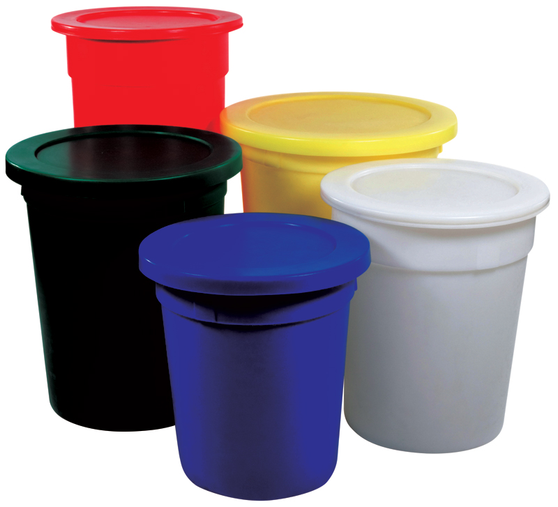 Plastic Tapered Bins and Tubs