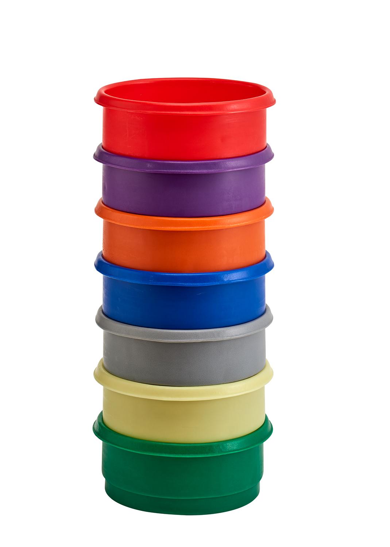 Inter-Stacking Plastic Bins
