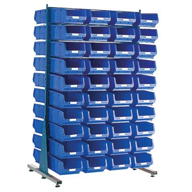 Free Standing Louvered Panel Kit - Double Sided