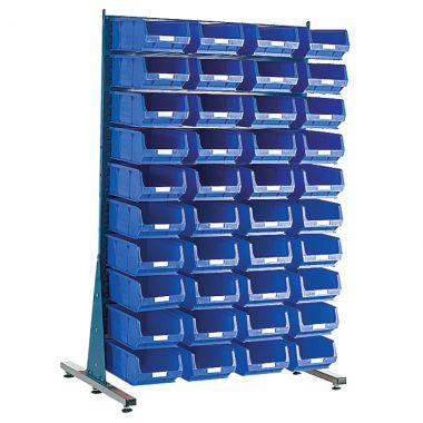 Free Standing Louvred Panel Kit - Single Sided