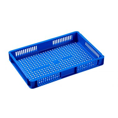 Euro Stacking Plastic Containers 600x400x73mm - 21014