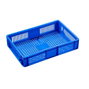 Euro Stacking Plastic Containers 600x400x118mm - 2A022