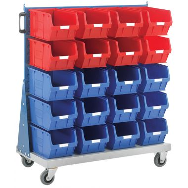 Louvered Panel Trolley - Single Sided