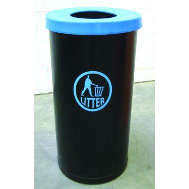 70 Litre Popular Litter Bin - Tidy Logo