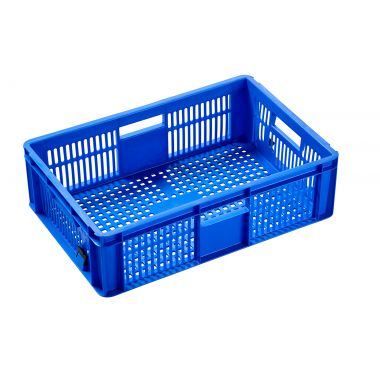 Colour Coded Plastic Stacking Containers (06032)