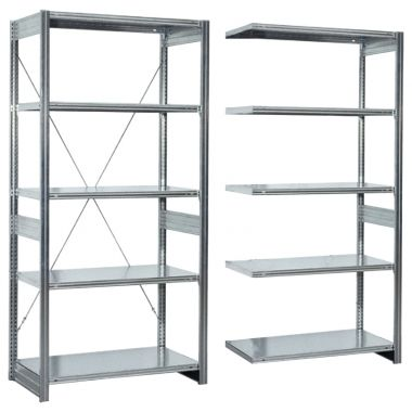 Modular Shelving System - Wide Span Extension Unit