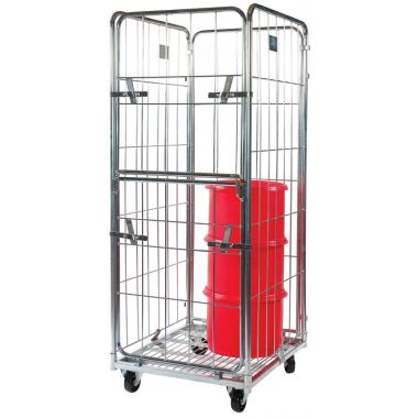 Demountable Roll Container – Medium Three Sided