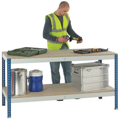 Economic Work Bench - Chipboard Top & Shelf