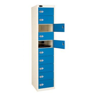 Laptop Storage Locker - Ten Door