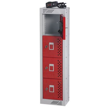 Incharge Personal Effects Lockers  - Four Door