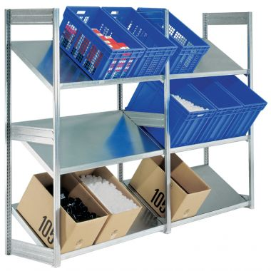 Modular Shelving System - Inclined