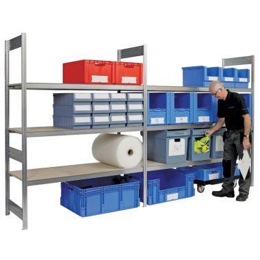 Modular Shelving System - Wide Span