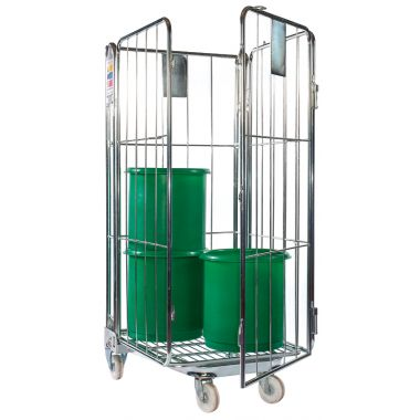 Nestable Roll Container – Four Sided