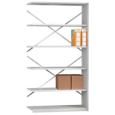 Office Shelving - Six Shelf Extension Unit