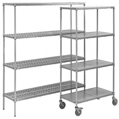 Plastic Plus - Vented Shelving Unit