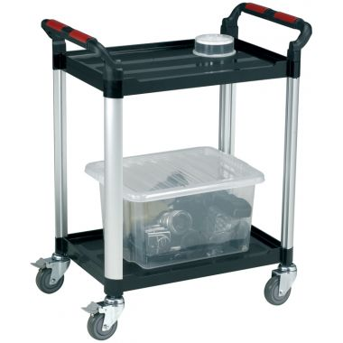 Two Tier Utility Tray Trolley (Small)