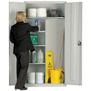 Industrial Utility Cupboard - Extra Wide