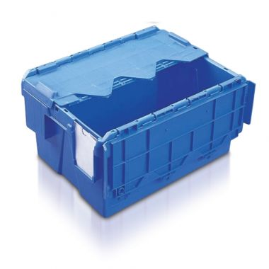 Attached Lid Container - (400 x 300 x 222mm)