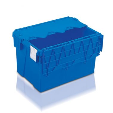Attached Lid Container - (600 x 400 x 365mm)