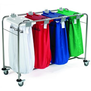 Laundry Trolley - Four Bags