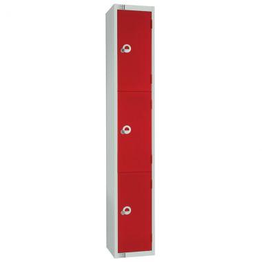 Steel Storage Locker - 3 Door