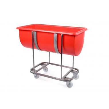 Stainless Steel Mobile Trough – 135 Litre - RM135FSS