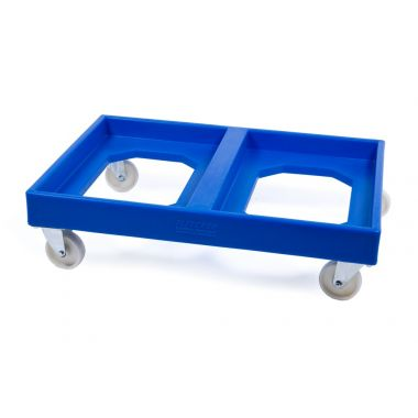 Double Plastic Dollies to suit Stack Nest Plastic Containers