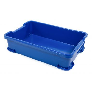 Hygienic Stacking Box 600x400x145mm - RM904