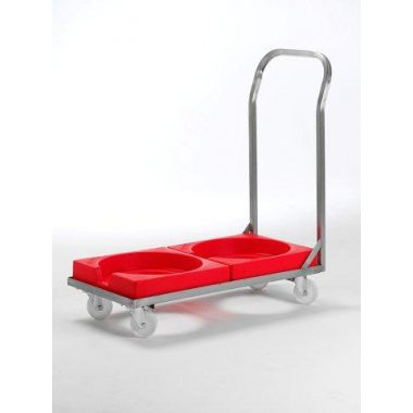 Plastic Dolly for Plastic Stacking Bins - RMSBDD
