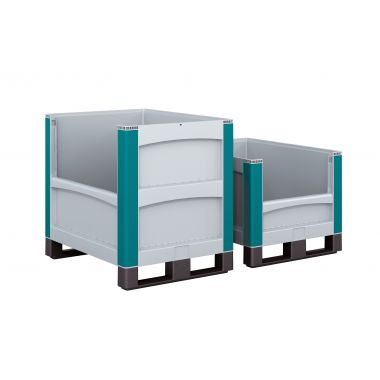 Heavy Duty Plastic Pallet Boxes – Pick Opening