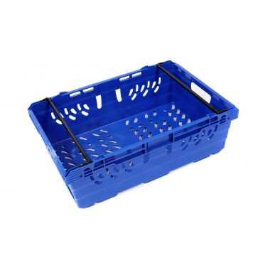 Plastic Stack Nest Bale Arm Crate - SN190