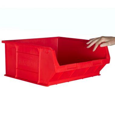 Large plastic picking bin
