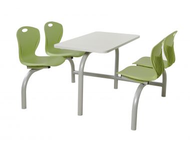 Premium Canteen Table - Four Chairs