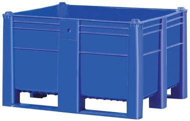 Plastic Pallet Boxes – 600 Litre (Solid)