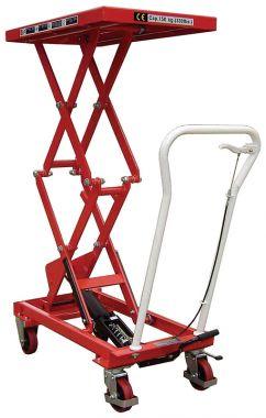 Manual Double Scissor Lift Table - 150kg