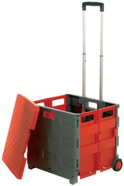 Foldable Box Trolley - With Lid