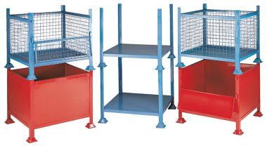 Open Sided Solid Stillage - Small