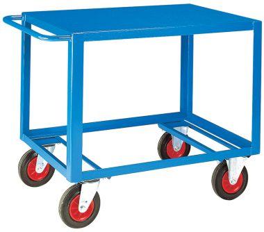 Heavy Duty Table Trolley - Steel Top (Large)