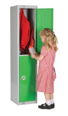School Locker - Low Height - Two Door Small - LK/S2A