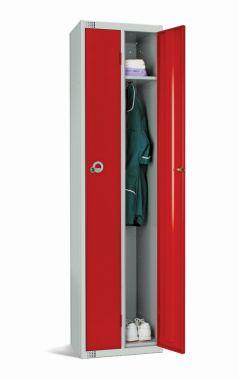 Twin Two Person Steel Lockers