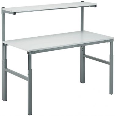 Modular Workbench - With Upper Shelf