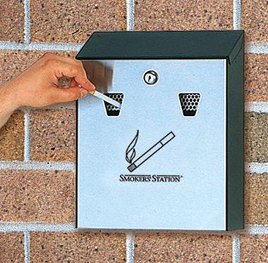 Cigarette Bin - Wall Mounted