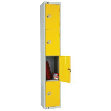 Steel Storage Locker - 4 Door