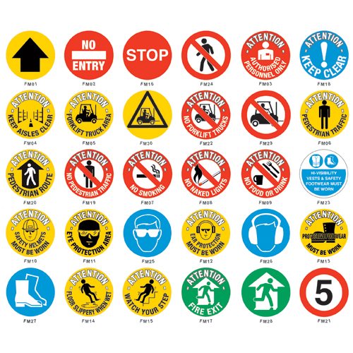 Floor Signs & Signal Markers
