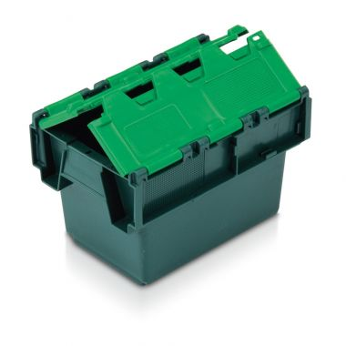 Attached Lid Container - (300 x 200 x 200mm)