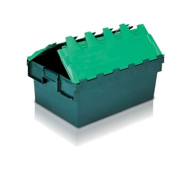 Attached Lid Container - (600 x 400 x 250mm)