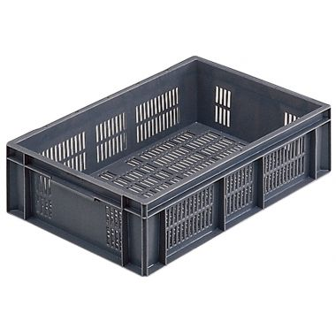 Euro Stacking Plastic Containers 600x400x150mm - 20029