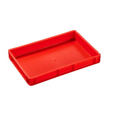 Euro Stacking Plastic Containers 600x400x73mm - 21013