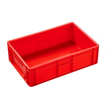 21033 Plastic Euro Boxes (Red)