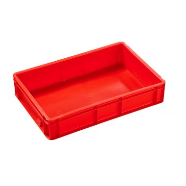 Euro Stacking Plastic Containers 600x400x120mm - 2A021